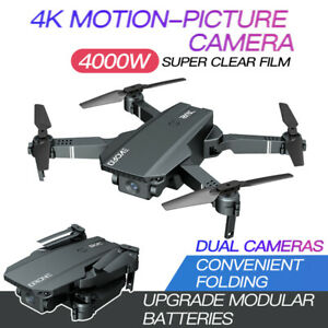 SG107 Foldable RC Drone Wifi With Camera 4K HD Quadcopter For Xmas Kids  Gift