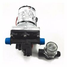 SHURFLO MARINE,RV 12V WATER PUMP 3.0 GPM 4008-101-A65 WITH STRAINER