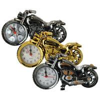 Motorrad Motorrad Muster Wecker kreative coole Uhr Geburtstag Neujahr  ◆✔◆ ★*❤