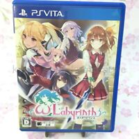USED PS VITA Omega labyrinth 997936 Japan import