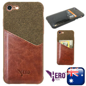 iPhone 8 leather case Card Holder case. High Quality Brand Name