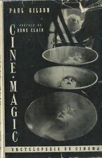 EO 1951 CINÉMA FANTASTIQUE + PAUL GILSON + RENÉ CLAIR + DÉDICACE : CINÉ-MAGIC