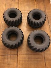Vintage Nos Monster Truck Tires Tamiya Blackfoot Monster Beetle Mud Blaster Rare