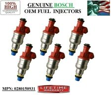05-06-07 Mazda B4000 4.0L V6 Refurb 6pack Fuel Injectors OEM BOSCH PN:0280150931