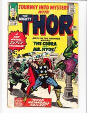 JOURNEY INTO MYSTERY THOR #105, 106, 107, 108, 109, 110, 111, 112, 113