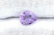 One 10x8 10mm x 8mm Pear Natural Brazilian Rose De France Amethyst Gemstone Gem