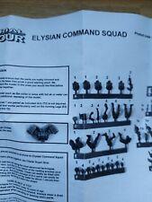 Forgeworld NEW NIB Elysian Command Squad Drop OOP Imperial Guard  Warhammer 40k