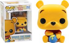 Winnie The Pooh Seated Flocked Pop Vinyl Figure Funko 252 Disney