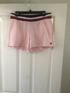 Tommy Hilfiger Ladies Sports Short Pink Medium
