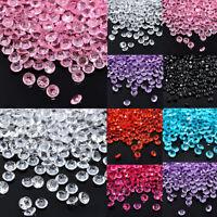 1000X 3-8mm Décoration Mariage Table Scatter Cristal Diamant Acrylique Confetti