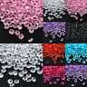 1000 Clear Acrylic Diamond Confetti 4.5mm for Wedding Decoration Table Scatters