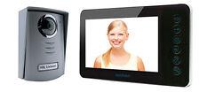 """Videocitofono LCD 7""""a colori - 4 fili avidsen 112231 Nero"""
