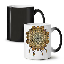 Mandala yoga New Colour Changing Tea Coffee Mug 11 OZ | wellcoda
