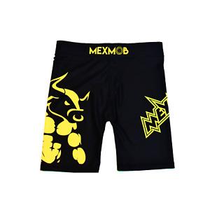 MEXMOB BULLFIGHTER VALETUDO COMPRESSION MMA JIUJITSU GRAPPLING SHORT