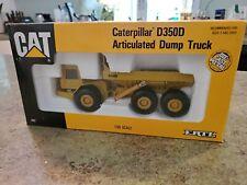 Vintage ERTL 1/50 Scale Caterpillar Cat D350D Die Cast Dump Truck 2431 NIB