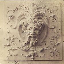 Ornement d'Architecture D��coration Photo Louis Émile Durandelle Vintage 1874