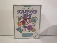 RARE HOW TO HOSt A SCAVENGER HUNT PARTY- THEME ANIMAL SAFARI  - BRAND NEW/SEALED