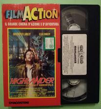 VHS Film Ita Fantascienza HIGHLANDER L'ULTIMO IMMORTALE Sean Connery no dvd(V149
