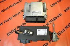 BMW X1 E84 1.8D S DRIVE ENGINE ECU KIT WITH ONE KEY 8506434 , 0281016106