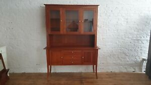 Quality American Cherry Arts and Crafts Style Display Dresser Nichols and Stone