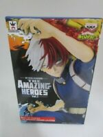 Banpresto My Hero Academia The Amazing Heores 2 Shoto Todoroki figure Japan F/S