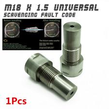 1x O2 Oxygen Spacer Sensor Extension Dual Fit OBD2 Scavenging Fault Code M18X1.5