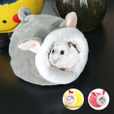 Hamster Cave Bed Small Pet Animals Bed Nest Dutch Pig Mice Guinea Habitat House