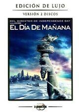 PELICULA DVD EL DIA DE MAÑANA EDICION DE LUJO 2 DISCOS + FUNDA
