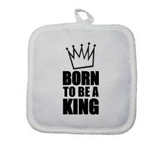 Manique gant de cuisine born to be a king