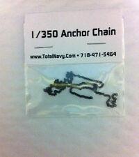 Model Ship Anchor Chain 1/350 Scale