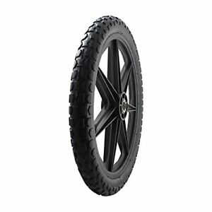 """Marathon 92010 Flat Free 20"""" Replacement Tire Assembly for Rubbermaid Big Whe..."""