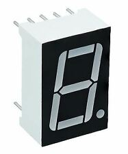 """2 X Red 0.56"""" 1 DIGIT Seven 7 Segment Display Common Anode LED"""