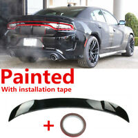 """""""OE SRT Hellcat Style"""" Gloss Black Trunk Spoiler Fit For Dodge Charger 2015-2020"""