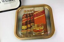 Plateau en fer publicitaire JOHNNIE WALKER Whisky vintage