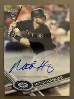 2017 Topps Chrome Mitch Haniger RC Rookie AUTO Seattle Mariners
