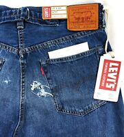 Levis Vintage Clothing LVC 1937 501 XX Selvedge Jeans Velzy Cropped $395 Big E