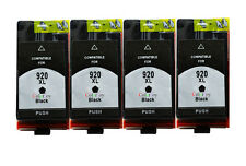 4x HP 920XL ink Replacement for HP Officejet 6000 6500 6500A 7000 7500 7500A