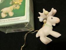 Precious Moments Merry Chrismoose 1995 Holiday Preview Ltd Ed Ornament b45