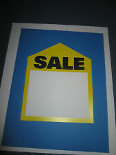 PRICE TAGS  -  LARGE YELLOW SALES TAG   6 X 7 1/2  10/PACK     #1297