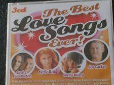 THE BEST LOVE SONGS EVER! (3 CD - 2007) Joe Cocker, Gary Moore, Roxy Music......