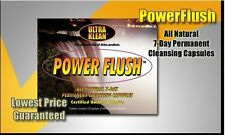 ULTRA KLEAN POWER FLUSH ALL NATURAL 7 DAY PERMANENT CLEANSING CAPSULES
