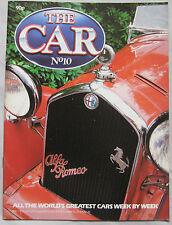 THE CAR magazine Issue 10 Featuring Alfa Romeo 8C 2300, Ferrari Dino 246 F1
