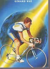 CYCLISME carte GERARD RUE (equipe CASTORAMA ) 1992