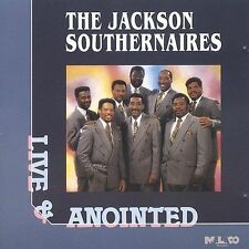 FREE US SHIP. on ANY 2 CDs! USED,MINT CD Jackson Southernaires: Live & Anointed