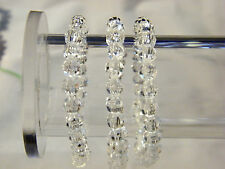 Stretch Bracelet Clear Faceted Acrylic Bead New Gift For Her Fashion Jewelry Set