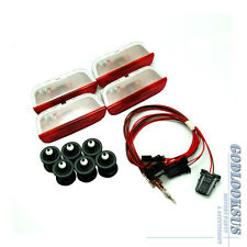 For VW Passat B6 7 CC EOS Golf Jetta MK5 6 Door Warning Light + Clip + Cable OEM