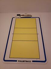 Champion Sports Volleyball Coaches Double Sided Dry Erase Clipboard