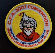 2007 Circus Fans Association Convention CFA Patch Hershey PA Pennsylvania