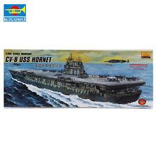 MiniHobby 80901 1/700 Cv-8 Uss Hornet Aircraft Carrier Model Kit With Motor
