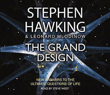The Grand Design, Mlodinow, Leonard, Hawking, Stephen, Good, Audio CD
